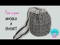Tutorial mochila a crochet - YouTube