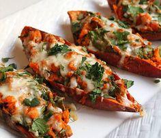 Geheime Rezepte: Gebackene Süßkartoffeln (einfaches und vegetarisches Rezept)