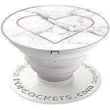 popsockets – oficial ampliar soporte y sujeción para Smartphones y tabletas – Stony corazón
