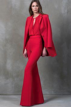 Milla by trendyol İspanyol Paça Kırmızı Pantolon   Trendyol