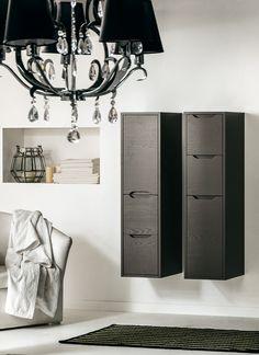 #Eban tall unit wall-hung Lucia 114 | #Holz | im Angebot auf #bad39.de | #Badmöbel #Bad #Badezimmer #Einrichtung #Ideen #Italien