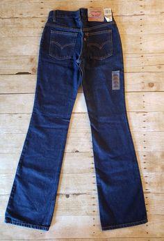 11d742e910d Vtg Levi's 517 High Waist Mom Jeans Size 3 Long 27 x 33.5 Slim Fit Boot