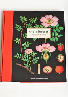 The Art Of Instruction On Botany And Biology Book   Modern Vintage Books   Modern Vintage Home & Office #PinADayInMay and @Ruche