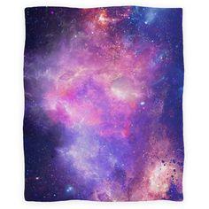 Galaxy Blanket | Blankets, Fleece Blankets and Throws | HUMAN
