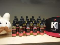 Take a look at our updated display of @Khalivapors at #Spyglassvapor in #TomballTX (north of downtown #Houston). With flavors like The Fairmont and Sunset BLVD, we're sure you'll like the fine addition of this #eliquid line at our #vapeshop. Go online at http://spyglassvapor.com or visit us during normal business hours (bunny not included!) #vape #vaping #vapingshop #spyglass #spyglasselixir #cloudcouch #khalivapors #vapelife #vapingforlife #vapefamily #vapefam #vapebunny #spyglassvapebunny