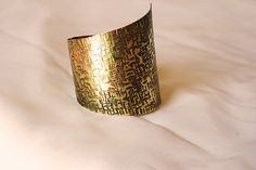 ancient greece jewelry asymmetrical wide cuff by paramithi on Etsy, €17.70