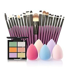 Super Soft,SMTSMT 2017 Super Soft Concealer 20 Makeup Brush Water Puff Puff Powder Puff (B) -- You can get additional details at the image link. Mascara Brush, Lip Brush, Makeup Brush Set, Makeup Sets, Makeup Vault, Makeup Gallery, Fiber Mascara, Powder Puff, Eyeshadow Brushes