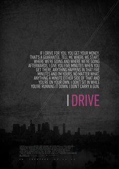 Alternative 'Drive' Movie Poster