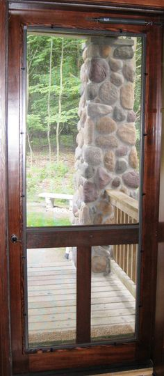 1000 images about screen storm doors on pinterest for Exterior doors with screen insert