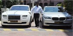 science of success: BARBER WHO OWNS A ROLLS ROYCE!