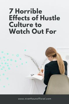 Learn how to hustle in a healthy way!