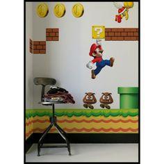 New Super Mario Seinätarrat - Tilaa nyt edulliseen hintaan! - AlphaGeek