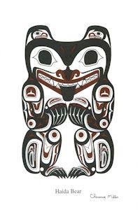 Haida Bear by Clarence Mills