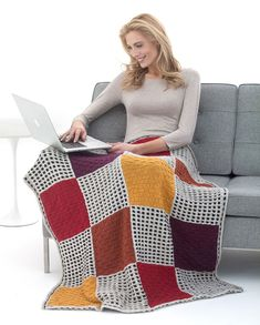 Basketweave And Slip Stitch Afghan in Lion Brand Heartland - L40171. Discover more Patterns by Lion Brand at LoveKnitting. The world's largest range of knitting supplies - we stock patterns, yarn, needles and books from all of your favorite brands.