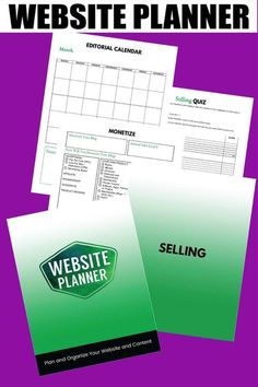 Website Planner: Plan and Organize Your Website and Content Plan your content marketing and monetize your website - Grab Your Copy   planner, workbook, online marketing #website Content Marketing, Online Marketing, Money Making Websites, Online Web Design, Website Optimization, Website Maintenance, Planning And Organizing, Business Planner, Business Website