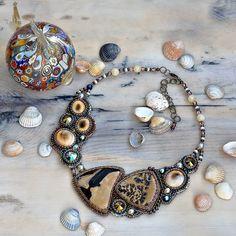 #beadsjewelry #handmadejewelry #naturalgemstone#tobeads #necklace