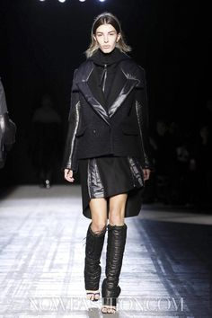 ALEXANDER WANG, AW11: the outerwear is already so off the charts and fashion month just started.