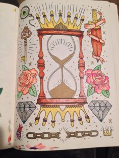 #megamunden #tattoo #coloring #adult Tattoo Coloring Book, Colouring Pages, Coloring Books, Flash Tattoos, Doodle Art, Artworks, Vintage World Maps, Doodles, Quote Coloring Pages