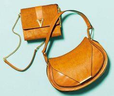 via Vince Camuto    #orange #handbag #crossbody #shoulderbag