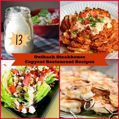 In this collection of Outback Steakhouse Copycat Restaurant Recipes, we zero on the absolute best main dishes and sides that Outbacks has to offer.