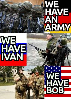 Humor Discover America& response to Ivan is part of humor - America& response to Ivan Army Jokes Military Jokes Army Humor Stupid Funny Memes Funny Video Memes Funny Relatable Memes Russian Humor History Jokes Funny Humor Really Funny Memes, Crazy Funny Memes, Funny Video Memes, Stupid Memes, Funny Relatable Memes, Funny Humor, Army Jokes, Military Jokes, Army Humor