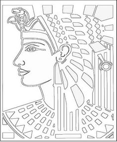 Ancient Egyptian Coloring Pages 061611» Clip Art