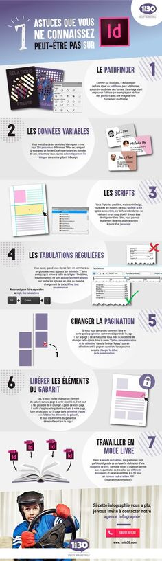 Découvrez 7 astuces que vous ne connaissez peut-être pas sur InDesign ! (Infographie par Inass H.)