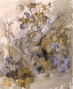 Robert Medley. 'A Tree Study'. Oil on canvas. 1959.