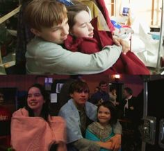 Anna Popplewell, William Moseley, and Georgie Henley