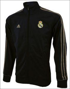Real Madrid track jacket.