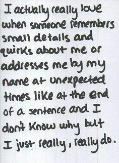 I just really, really do.