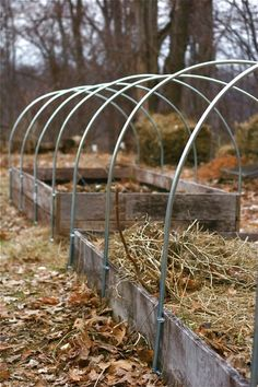FREE conduit tubing bender for your garden hoop houses and low