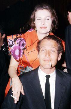 missingaudrey:  Paul Newman & Joanne Woodward, circa 1965