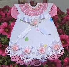 Картинки по запросу Baby Dress Card and Template