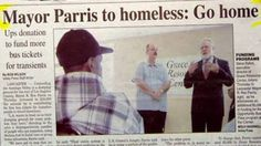 CH 8 cool funny headlines lovely Mayor Parsis to homeless Funny News Headlines, Newspaper Headlines, Headline News, Funny Ads, Funny Signs, The Funny, Hilarious, Funny News Stories, Dumb Ways