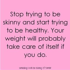 stop the diets and start the lifestyle changes!!! It's the only way to keep up with a healthy figure and a happy you. :)