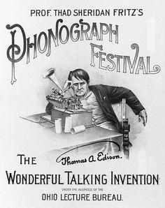 Edison Phonograph Festival.