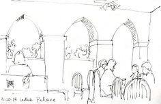 Sketchwork: Memphis Monday: India Palace