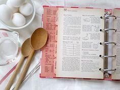 love old vintage cookbooks