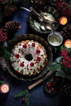 Brown Sugar Vanilla Bundt Cake with Cream Cheese Glaze; A wonderful blend of brown sugar and cream cheese glaze are in this eggless cake. Cream Cheese Glaze, Cake With Cream Cheese, Eggless Desserts, Cherry Candy, Vegetarian Breakfast Recipes, Homemade Christmas Gifts, Yummy Food, Delicious Recipes, Vegan Recipes