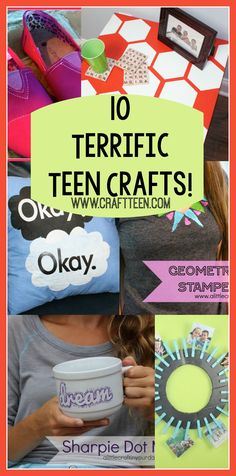 10 Terrific Teen Crafts! | Craft TeenCraft Teen