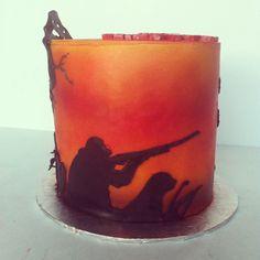 Hunting cake ..
