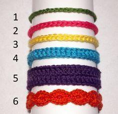 Free Crochet Pattern: Baby Headbands