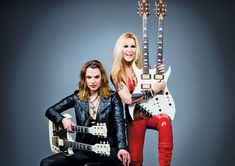 Lzzy Hale and Lita Ford on Touring Together, Gear and Breaking Down Barriers Lzzy Hale, Lita Ford, Heavy Metal Girl, 3d Figures, Women Of Rock, Guitar Girl, Halestorm, Female Guitarist, Music Photo