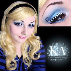 Alice in Wonderland Makeup w/ Tutorial by KatieAlves on DeviantArt