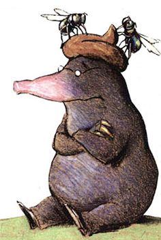 """Vom kleinen Maulwurf, der wissen wollte, wer ihm auf den Kopf gemacht hat  nach dem Kinderbuch von Werner Holzwarth und Wolf Erlbruch    Den kleinen Maulwurf treibt es wieder um im monsun. Es ist aber auch empörend! Kaum lugt er aus seinem Maulwurfshügel, da landet schon eine dicke, eklige, braune Wurst auf seinem Kopf. """"Wer hat mir auf dem Kopf gemacht?"""", ruft er in Rage. Er trappelt los, den Schurken zu suchen. Nach mehreren falschen Spuren schnappt er ihn und zahlt es ihm auf total…"""