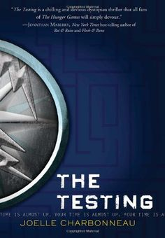 The Testing by Joelle Charbonneau. An interesting sci fi dystopia. Not very original however as it is an almost perfect blending of Hunger Games and Divergent. Still a worthy read. 8/10