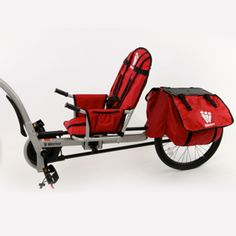 Wee Hoo Bike Trailer can be used for kids with disabilities to take part in family bike rides