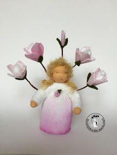Magnolie Blumenkinderwerkstatt - Blumenkinder für den Jahreszeitentisch