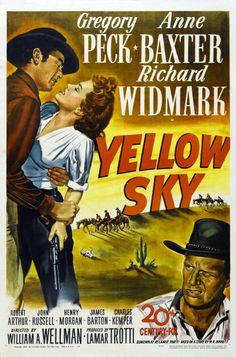 Yellow Sky (1948) Gregory Peck, Anne Baxter, Richard Widmark